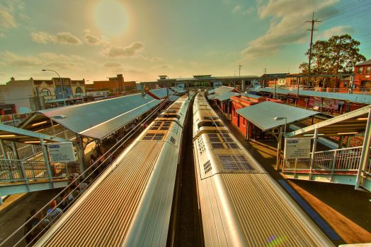 Lidcombe Railway Station by Mars-Hill
