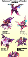 Pokemon Subspecies Crobat