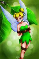 Tinkerbell in  Trouble! by sleepy-comics