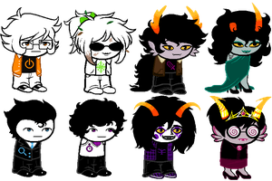 More OCs by c6h12o6-cube