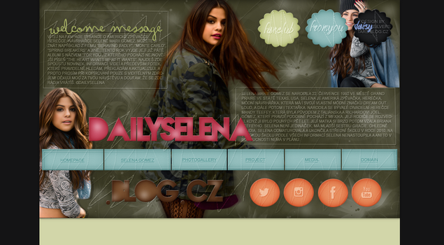 ORDERED DESIGN FT. SELENAGOMEZ by silverstars-graphic