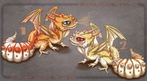 Gecko Dragons [2/2 OPEN] by SquishyGex