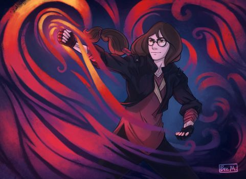 Bre, the Firebender by 89ravenclaw