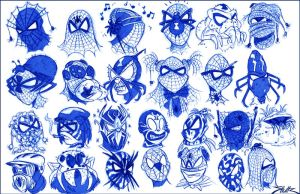 Spiderman Mask Failure by Jays-Doodles