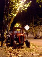 The night tractor by LoveTheSilence