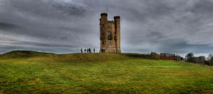 Broadway Tower Panorama by s-kmp