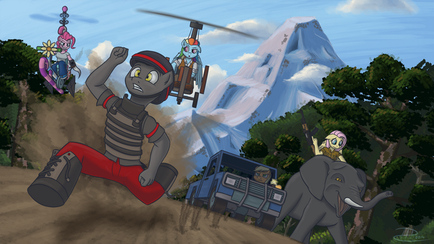 Kyrat Expedition by FireFoxProject