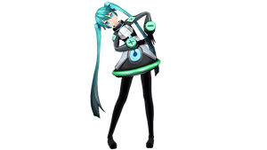 Robotic Toy Miku( Update toy ) + DL by luiz7429