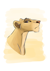 Lioness  by dyb