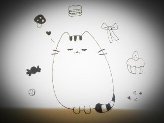 Pusheen the Cat by PinkyLover96