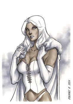 White Queen, Commission by Guy-Bigbelly