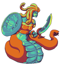 Medusa the Greatest Face in Armored by orochii