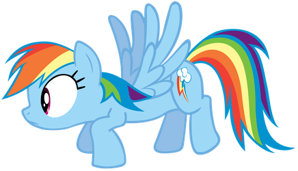 Dashie caught off guard by J-Brony