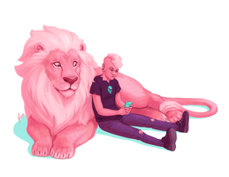 Pink Pals [SU Spoilers] by yinza