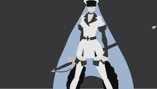 Vector Practice: General Esdeath by th3battula