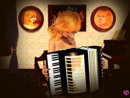Candace's accordion by Chronophontes