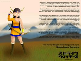 Narantuyaa Yanjmaa: The Maiden of Mongolia by ThanyTony