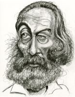 Walt Whitman by Caricature80