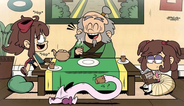 (TLH) The Neu House AU: Tea Time With Uncle Iroh by BRSstarJV