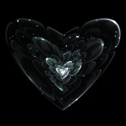 Broken Heart In Black And White by shanblue