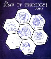 Draw it Terribly: Dimension Sans edition by catgir
