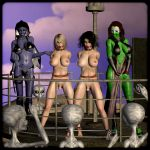 Planet Stiletto - Sissy slaves trading by decaMeronX
