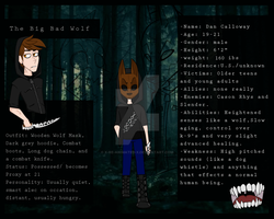 The Big Bad Wolf (Animated ref sheet) by x-Re-Animated-x