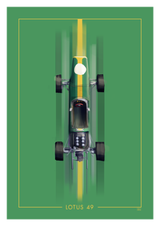 Lotus 49 by Ben-Olive