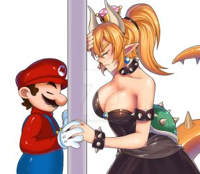 A Mario/Bowsette Fanfiction - Every Heart by FallenAngelGM