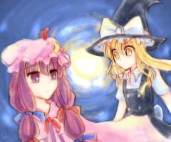 marisa_patchouli03 by smilocg