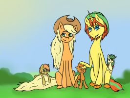 Apple Family's  Photo (Request) by Drizzle84