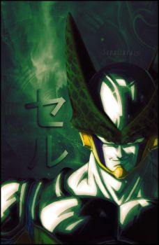 Dragon Ball Z - Cell by Sepultura120