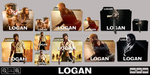 Logan (2017) Folder Icon Pack by Bl4CKSL4YER