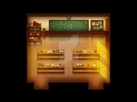 Classroom by Knayter