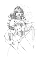 Wonder Woman (Pencils) by ColletteTurner
