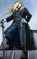 Olivier Armstrong by aliceazzo