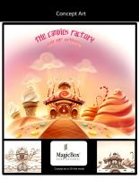 Candy Factory concept by X-Factorism