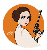 Princess Leia by SimpaticasX2