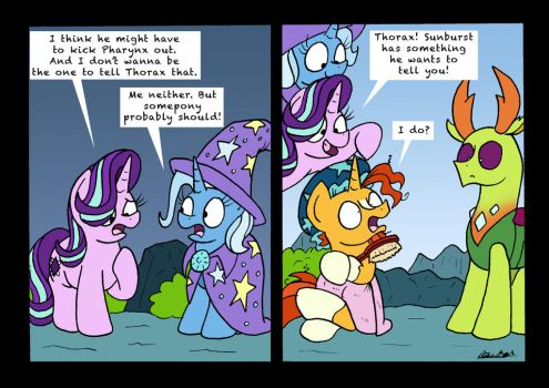 The Question Bearer by bobthedalek