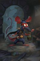 Rat Thief by AntonZemskov