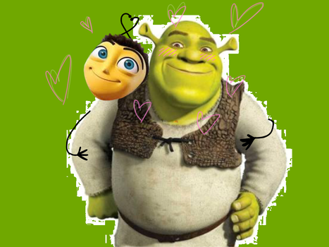 Emily Jaynee 11 10 Barry Pulled Shrek Into A Loving Embrace By Shrarry4lyf