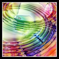 Rainbow Waves by kanes