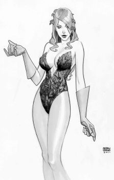 poison ivy by Andrew-Robinson