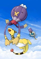 Ampharos's Wild Ride by stuffed