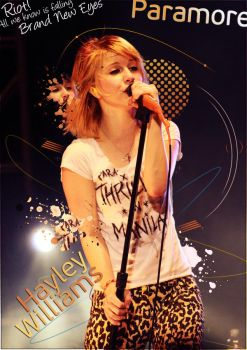 Hayley Williams by Nova-Designs