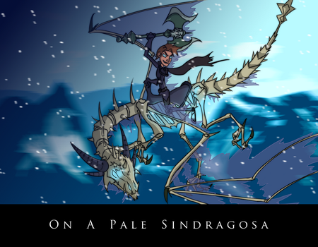 On a pale Sindragosa by Ludichrist