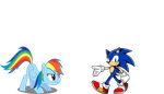 Sonic and Dash 1 by Sonaze-Knight
