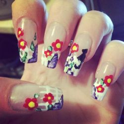 Long Picket Fence Nails by megs2606