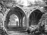 Ruined Cloisters by barefootliam
