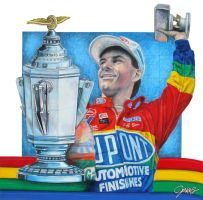 First Indy Win by Jenkins-Graphics